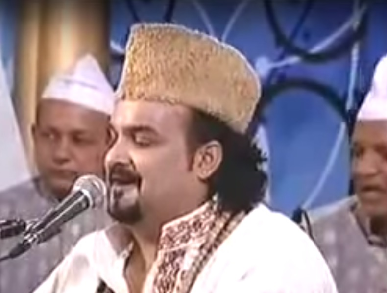 Amjad Sabri, the deceased singer File Photo [photo from ARY TV photage]