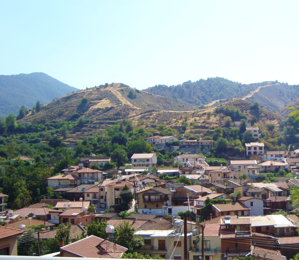 Village in Troodos mountains (Image: commons.wikimedia.org)