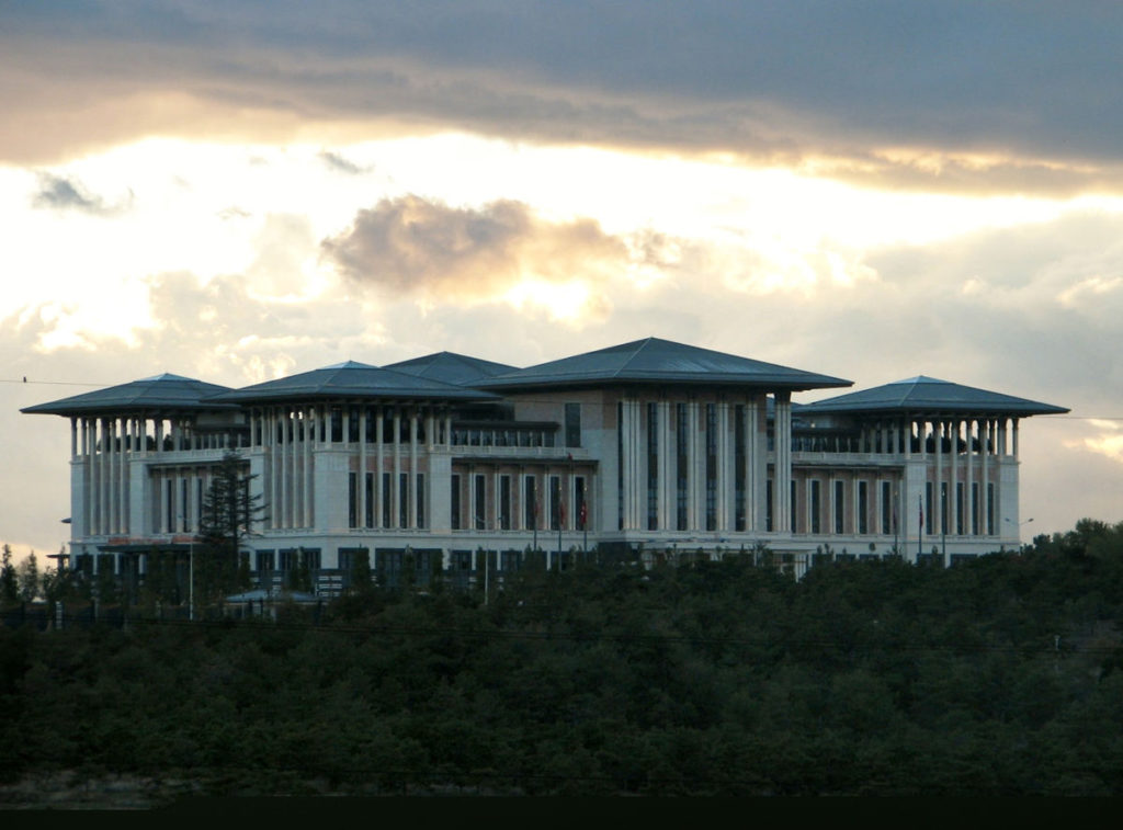 Presidential Palace in Ankara (Image by Ex13/CC BY-SA 4.0)
