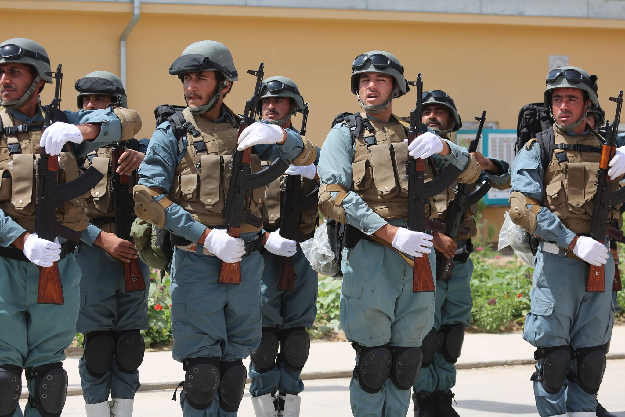 Afghan Police [Photo by Interior Ministry]