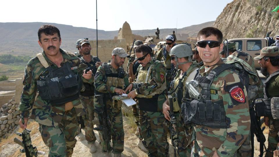 ANSF in operation in Nangarhar Province [Photo by the Nangarhar govenror office].