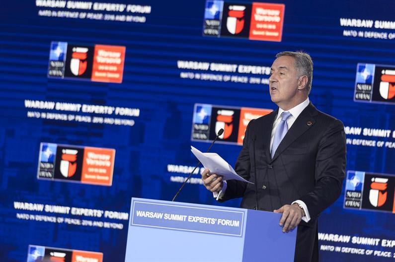 Milo Đukanović - PM of Montenegro (image: predsjednik.gov.me)