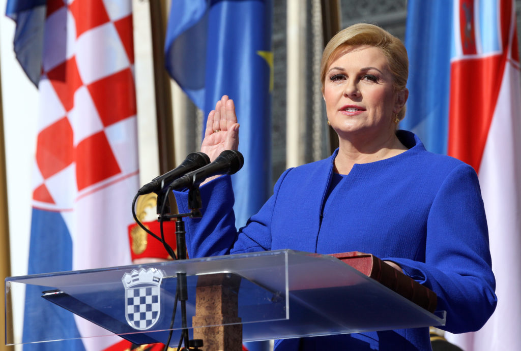Kolinda Grabar Kitarović - The President of Croatia (Image: hr.wikipedia.org)