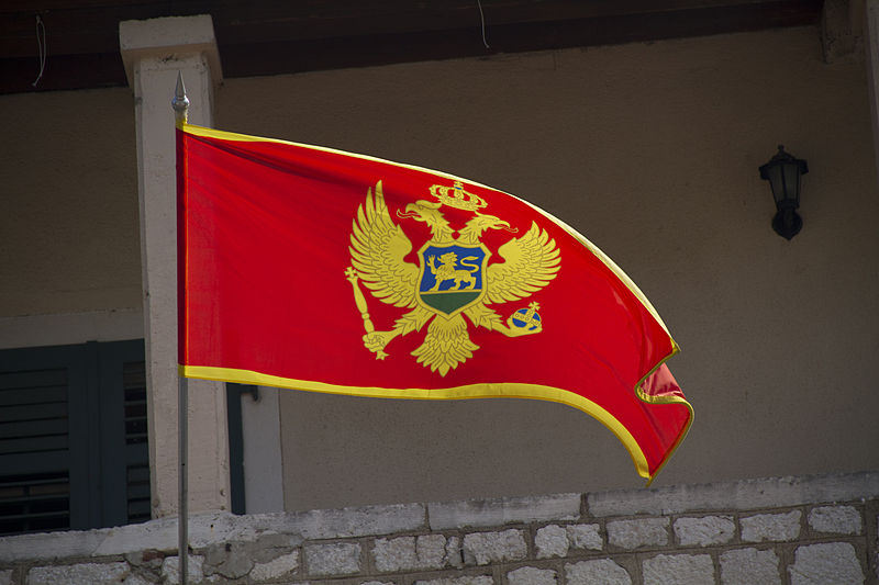 Flag of Montenegro (commons.wikimedia.org)