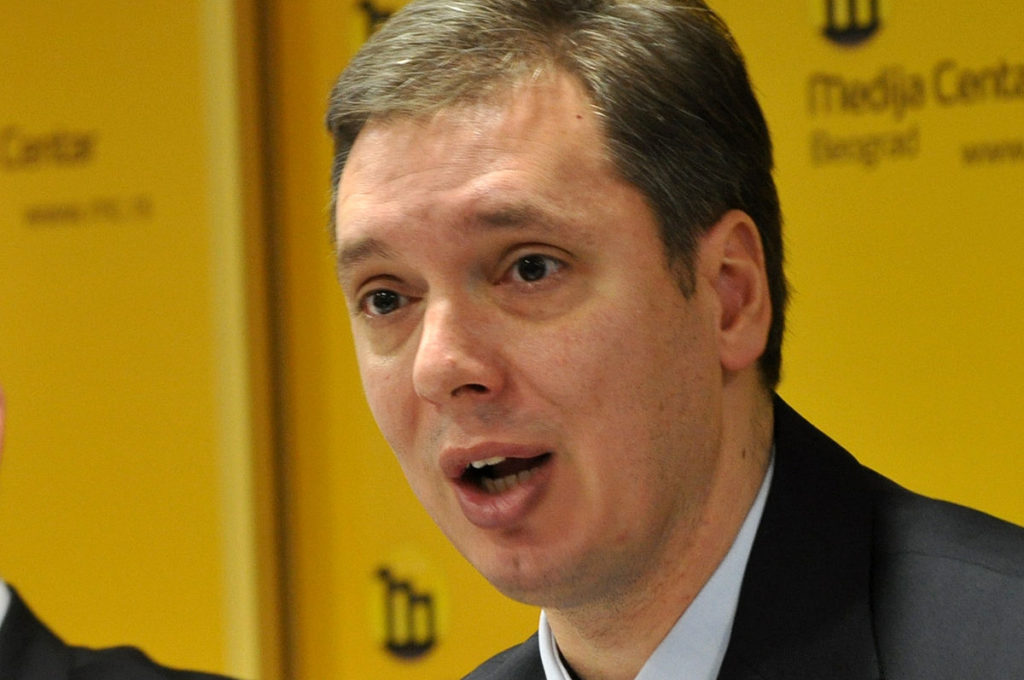 PM of Serbia Aleksandar Vučič (Image by Media Centar Beograd/CC BY 3.0)