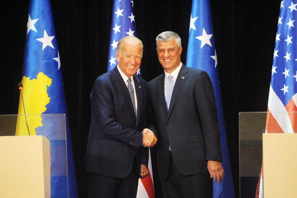 Vice-President Biden and President Thaci (Image by Office of the President of Kosovo/president-ksgov.net)