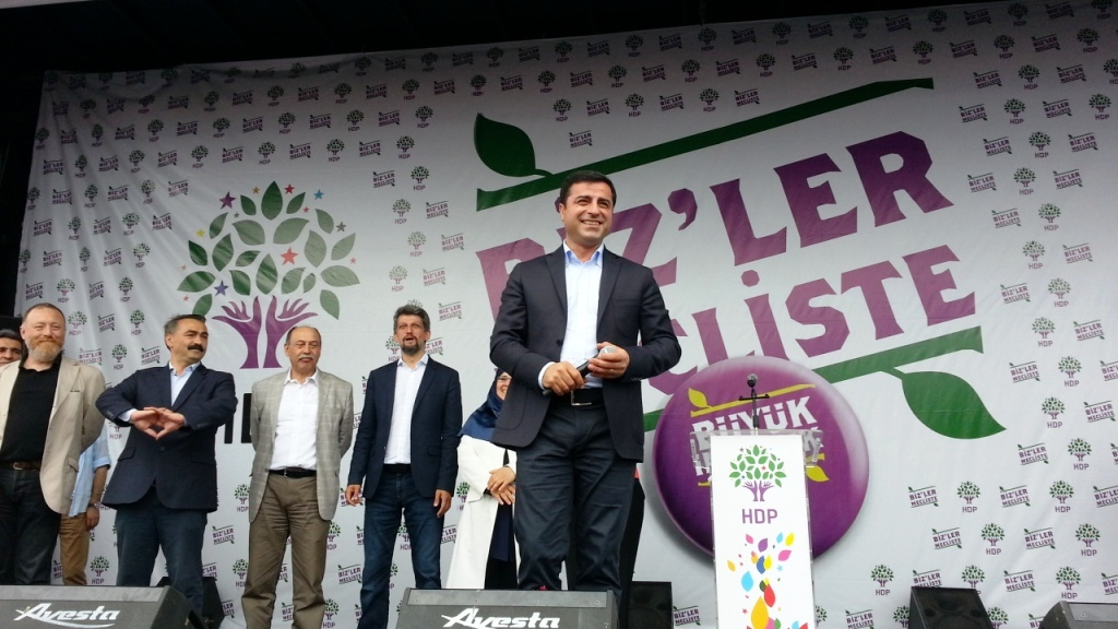 Selahattin Demirtas, Co-Leader of HDP Party Faces 5 Years in
