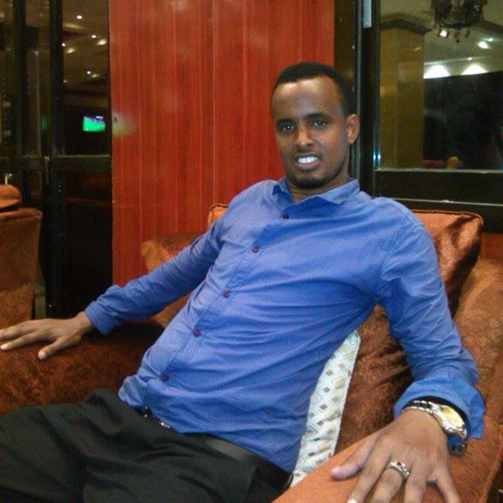 Ali Ahmed Abdulle, head of News of Radio Shabelle.
