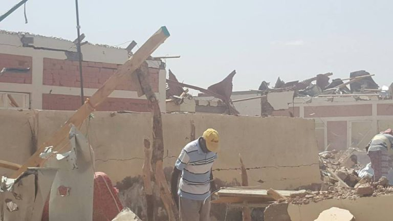 Two blasts rock Puntland office in Galkayo. (Photo: Horseed)