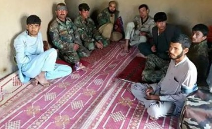 ANSF prisoners file photo by Taliban website