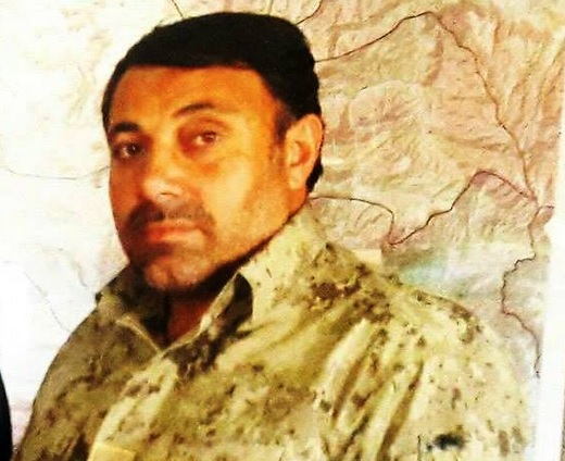 Sattar Hashmi, the Afghan Security Forces Commander killed by Taliban attack [Photo via Taliban Spokesman]
