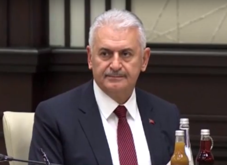 PM Binali Yildirim (Yol TV/CC BY 3.0)
