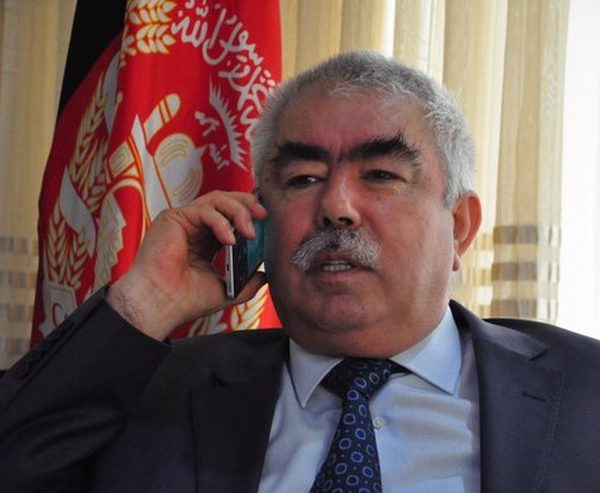 Abdul Rashid Dostum, Afghan First Vice President,  file photo [Photo by his office]