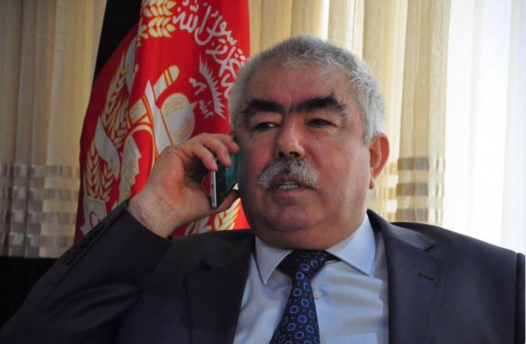 Abdul Rashid Dostum, Afghan First Vice President, file photo [Photo by vice president's official twitter account]
