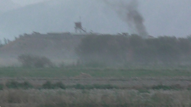 Site of the ANSF helicopter rash down [Photo from Taliban video]